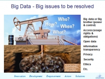 Big data or Big brother (power & control)